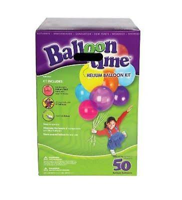 Balloon Time Jumbo Helium Kit
