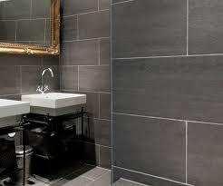 slate tiles home voyeurs a peek into homes grey slate bathroom