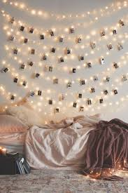 40 Cool DIY Ideas With String Lights Bedroom Design On A