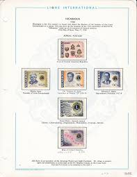 LIONS CLUB International Collection on Pages Mounted Sets