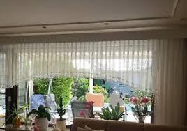details zu gardine c bogen blumenfenster panoramafenster 300 cm breit kürzbar