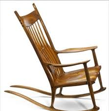 Sam Maloof Rocking Chair Video by Sam Maloof Rocking Chair Achieves 50 000 In La