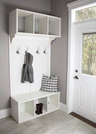 diy make your own ikea hack mudroom bench storage for