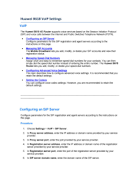 Huawei B618 Voip Settings By Lte Mall - Issuu