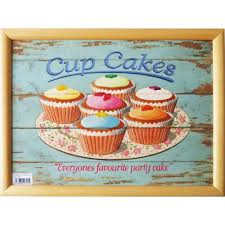 Cushion Tray Lap FAIRY CAKES Cup Cakes CT91