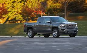 2018 GMC Sierra 1500 | In-Depth Model Review | Car And Driver Gmc Comparison 2018 Sierra Vs Silverado Medlin Buick 2017 Hd First Drive Its Got A Ton Of Torque But Thats Chevrolet 1500 Double Cab Ltz 2015 Chevy Vs Gmc Trucks Carviewsandreleasedatecom New If You Have Your Own Good Photos 4wd Regular Long Box Sle At Banks Compare Ram Ford F150 Near Lift Or Level Trucksuv The Right Way Readylift 2014 Pickups Recalled For Cylinderdeacvation Issue 19992006 Silveradogmc Bedsides 55 Bed 6 Bulge And Slap Hood Scoops On Heavy Duty Trucks