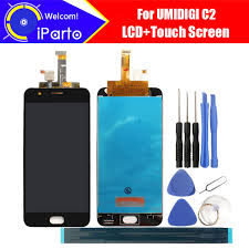 5 0 inch UMIDIGI C2 LCD Display Touch Screen Digitizer Assembly  Original New LCD