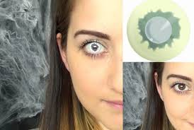 Halloween Colored Contacts Non Prescription Cheap by 100 Halloween White Contact Lenses Spooky Eyes White Uv