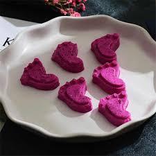 15 7x13 cm 6 löcher silikon backform wenig fuß geformte form kinder schokolade kuchen form diy muffin für backformen küche werkzeuge