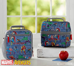 Marvel Blue Lunch Bag