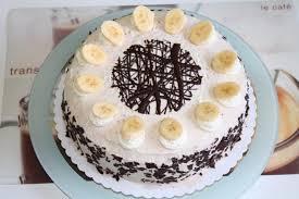 schokoladen bananentorte
