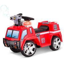 100 Kid Trax Fire Truck 6v Kt Rescue Quad