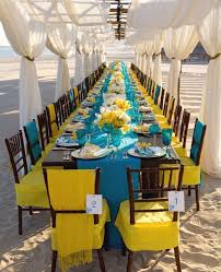 Beach Wedding Reception 8
