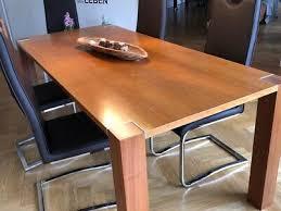 holz esstisch erle 200cm massivholz küchentisch holz tisch esszimmer wk wohnen ebay