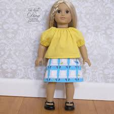 Amazoncom American Girl CL Bitty Baby Sugar Spice Dress Size 6