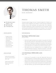 Classic Resume Template 120290