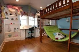 Build it loft bed with hammock