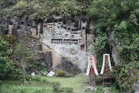 Graves Lemo Tana Toraja South Sulawesi Indonesia