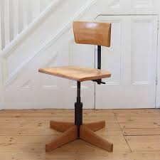 Vintage Industrial Office Chair By Stool Giroflex - Model 7043 Pedlars
