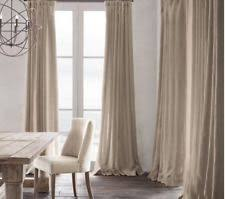 restoration hardware curtains drapes and valances ebay