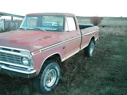 100 1975 Ford Truck For Sale F250 4x4 High Boy Project Very Solid Classic F250