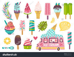 Set Cute Summer Icons Different Ice Stock Photo (Photo, Vector ... Sweet Ice Queen Cream Truck Kids Birthday Party Places Event Invitation Editable Diy Printable Classic Southern Van Shop On Wheels Popsicle Moore Minutes Build A Dream Playhouse Giveaway And Also Tips On How Doodlebug Designdoodle Popsweet Summer Collectionice Dragon Ice Cream Treats Let Us Make Your Special Cool Treat Invitations Vintage Cream Petite Studio Favor Box Cupcake Set