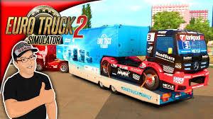 100 Roadstar Trucking Euro Truck SImulator 2 One Truck Family Event Run 3 YouTube