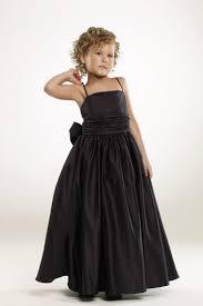 96 black flower girl dresses images black