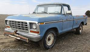 1978 Ford F250 Pickup Truck | Item DD8754 | SOLD! June 27 Ve...