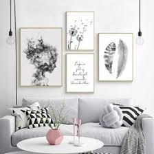 abstraktes poster schwarz weiß zum verkauf dhgate