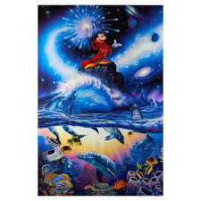 100 Christian Lassen Riese Sorcerer Of The Sea CanvasUnframed