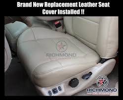 2001-2002 Ford F-150 Lariat Super-Crew Leather Seat Covers: Driver ... 2015 2018 Ford F150 Custom Leather Upholstery 19992007 Super Duty Seat Replacement 0408 Driver Bottom Cover Install Youtube Platinum 4x4 35l Ecoboost Review With Video F Series Windshield Best Prices 2005 Wiring Wire Center Images Pickup Truck Seats 2019 Limited Spied New Rear Bumper Dual Exhaust Coverking Genuine Customfit Covers Jump Clever Console Lid And Used Oem Oukasinfo 092014 Clazzio 7201