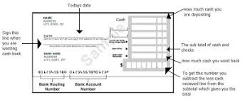 The Adopted e How to Fill Out A Deposit Slip