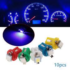 100 Interior Truck Lighting Car Light Bulbs 10PCs Yellow T5 B85D DIP 1 SMD LED