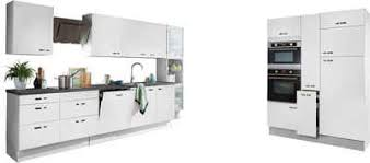 optifit küchenzeile cara ohne e geräte mit vollauszü und soft funktion breite 480 cm