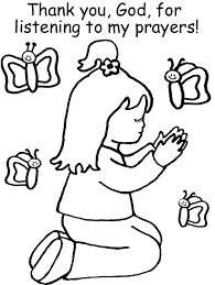 Christian Coloring Page To Print