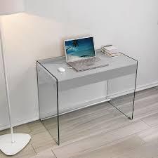 bureau ordinateur en verre bureau informatique en verre tous les fournisseurs de bureau
