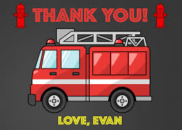 Fire Truck Thank You Card, Firetruck Thank You Card, Fireman Thank ... Amazoncom Fire Truck Kids Birthday Party Invitations For Boys 20 Sound The Alarm Engine Invites H0128 Astounding Trend Pin By Jen On Birthdays In 2018 Pinterest Firefighter Firetruck Invitation Printable Or Printed With Free Shipping Semi Free Envelopes First Garbage Online Red And Hat Happy Dalmatian Personalized Transportation Dozor Cool Ideas Bagvania Printables Parties