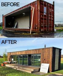 104 Container Homes Unique Shipping House Transformation Completed In 3 Days From Ireland Living In A