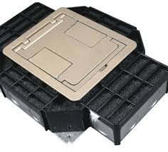 Wiremold Floor Box Cover Colors by Floor Boxes Middle Atlantic