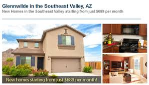 new homes in phoenix s southeast valley starting at 689 per month