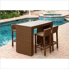 cheap 7 piece bar height outdoor dining set find 7 piece bar