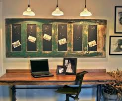 Decorative Cork Boards Design Ideas For Eye Catching Look Rustic Style Small Home Office