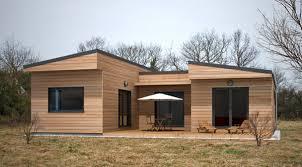 concept de pré fabrication de maison en ossature bois