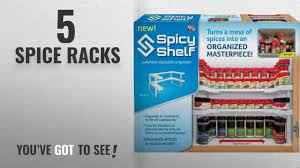 Top 10 Spice Racks 2018 Spicy Shelf Spice Rack and Stackable