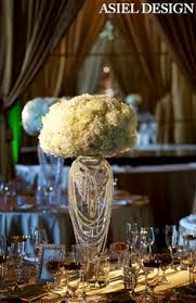 Glamorous Vintage Wedding Centerpiece 1