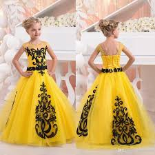 online get cheap little girls black formal dresses aliexpress com