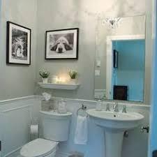 half bath pedestal sink decorating ideas Google Search