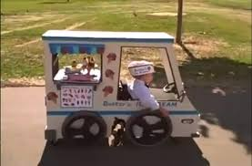 Dad Makes An Ice Cream Truck Halloween Costume For Son Who Uses A ... 21 Best Halloween Costume Ideas Images On Pinterest Costume Car Hop Ebay Food Nightmare Factory Costumes And Props 1 Of 4 Pages Ice Cream Truck Didnt Wait For Customers Youtube 11 Costumes Baby Cone Zombie Bride Some Ice Mr Ding A Ling Vt Home Facebook Toronto Gta Mr Iceberg 18 Little Red Wagon Parade Floats Diy Toddler Cream Man Project Nursery