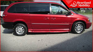 2002 Chrysler Town And Country BraunAbility Entervan II Wheelchair Van For Sale